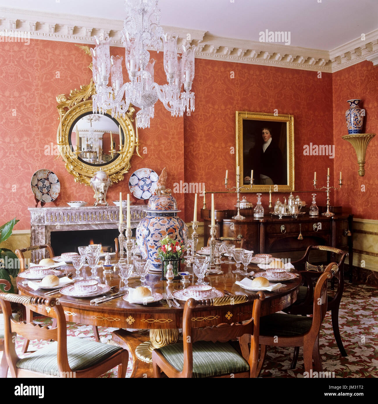 Victorian Era Dining Room: Victorian Dining Room Stock Photos & Victorian Dining Room