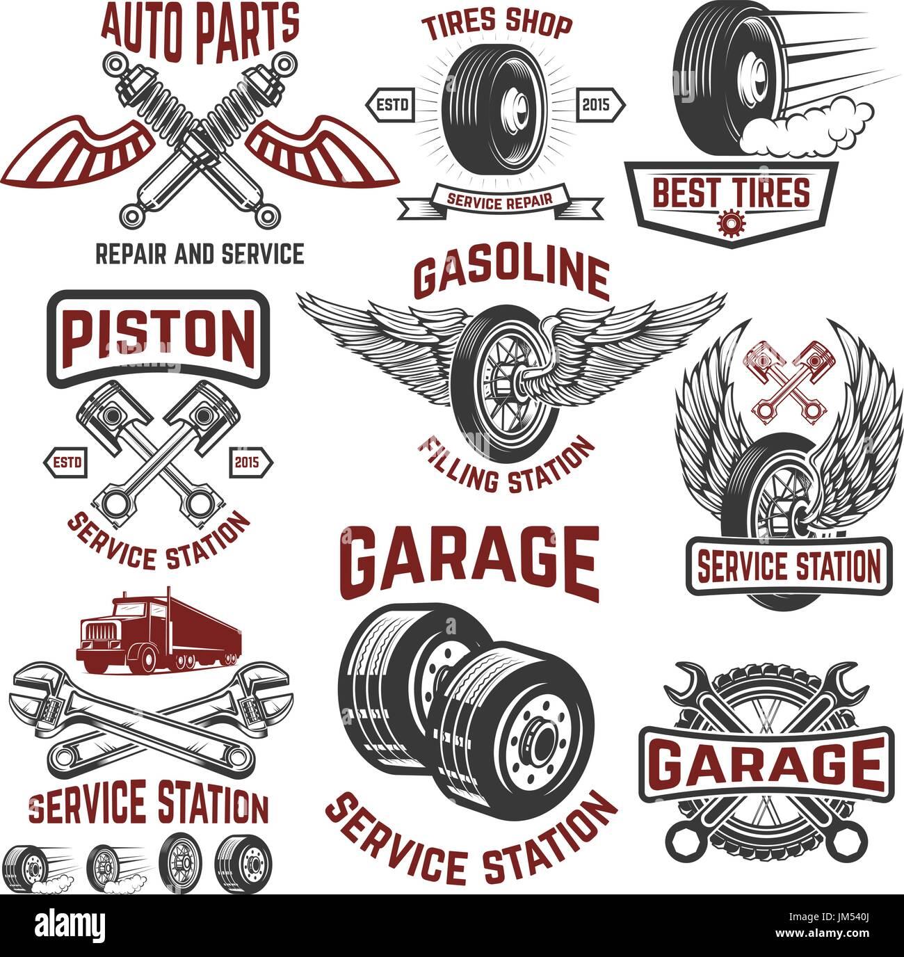 Garage, Service Station, Tires Shop, Auto Parts Store