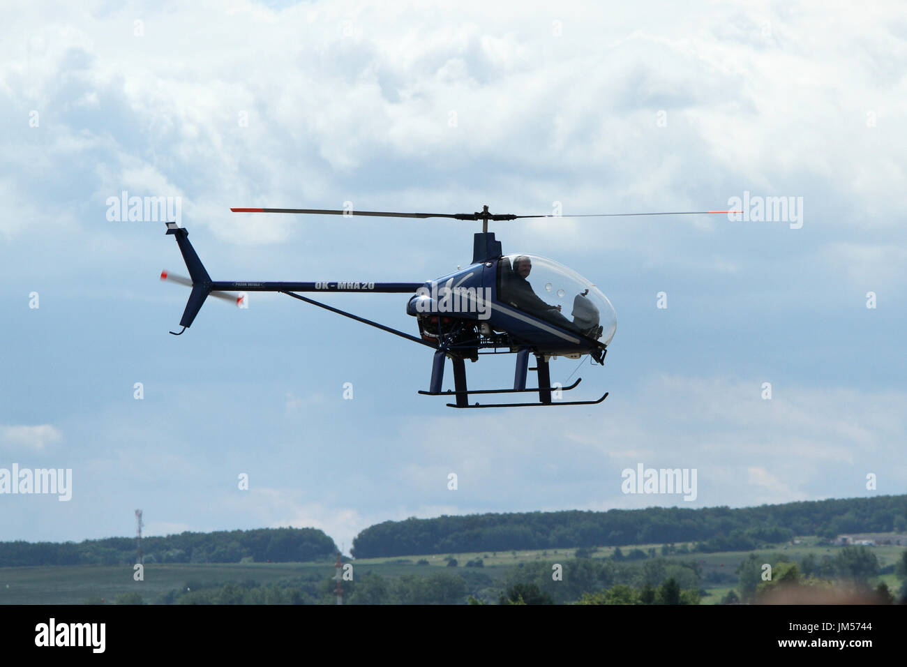 Ch 7 Elicottero : Light helicopter stock photos
