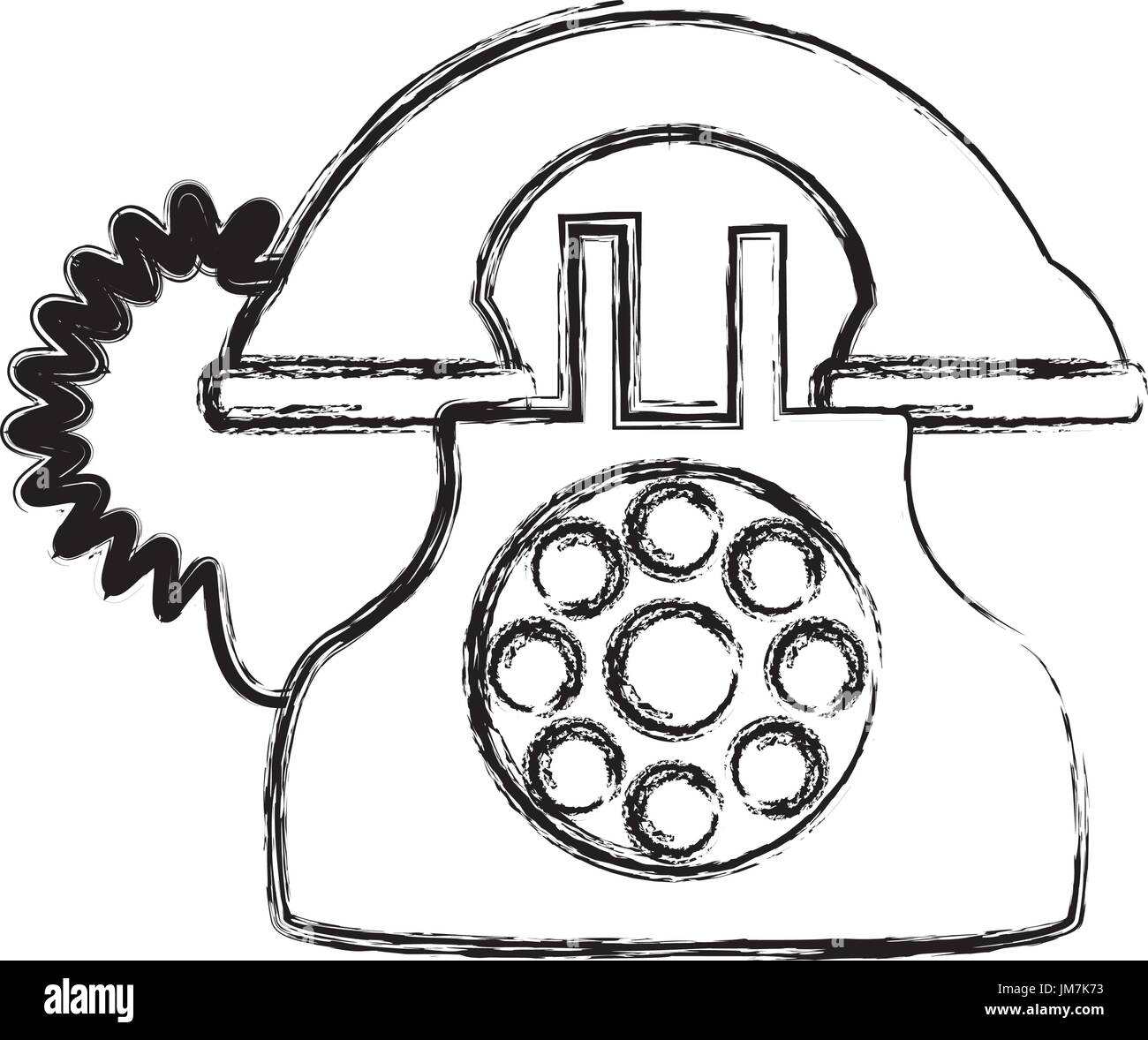 sketch telephone stock photos u0026 sketch telephone stock images alamy