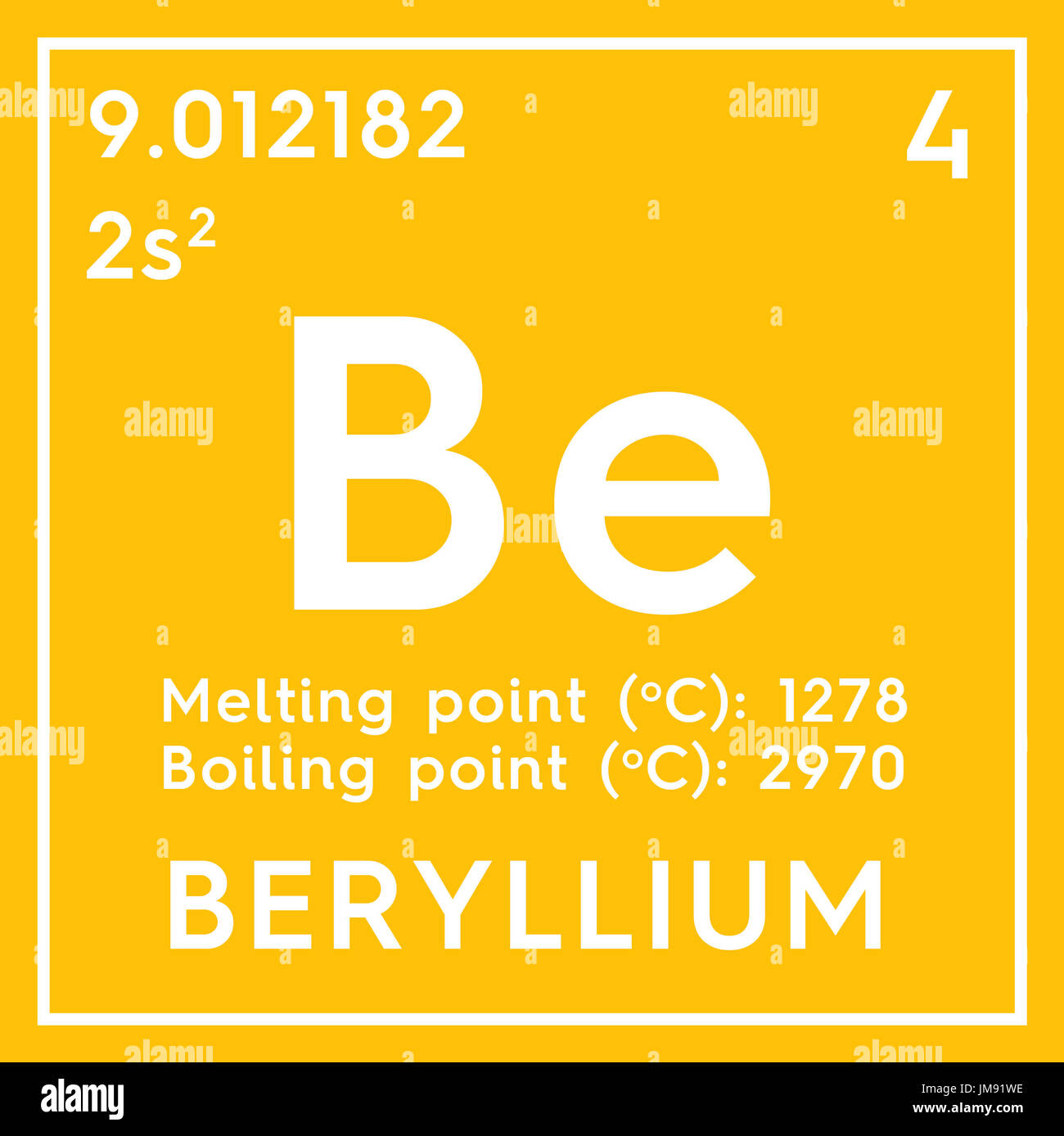Beryllium alkaline earth metals chemical element of mendeleevs beryllium alkaline earth metals chemical element of mendeleevs periodic table beryllium in square cube creative concept buycottarizona Image collections