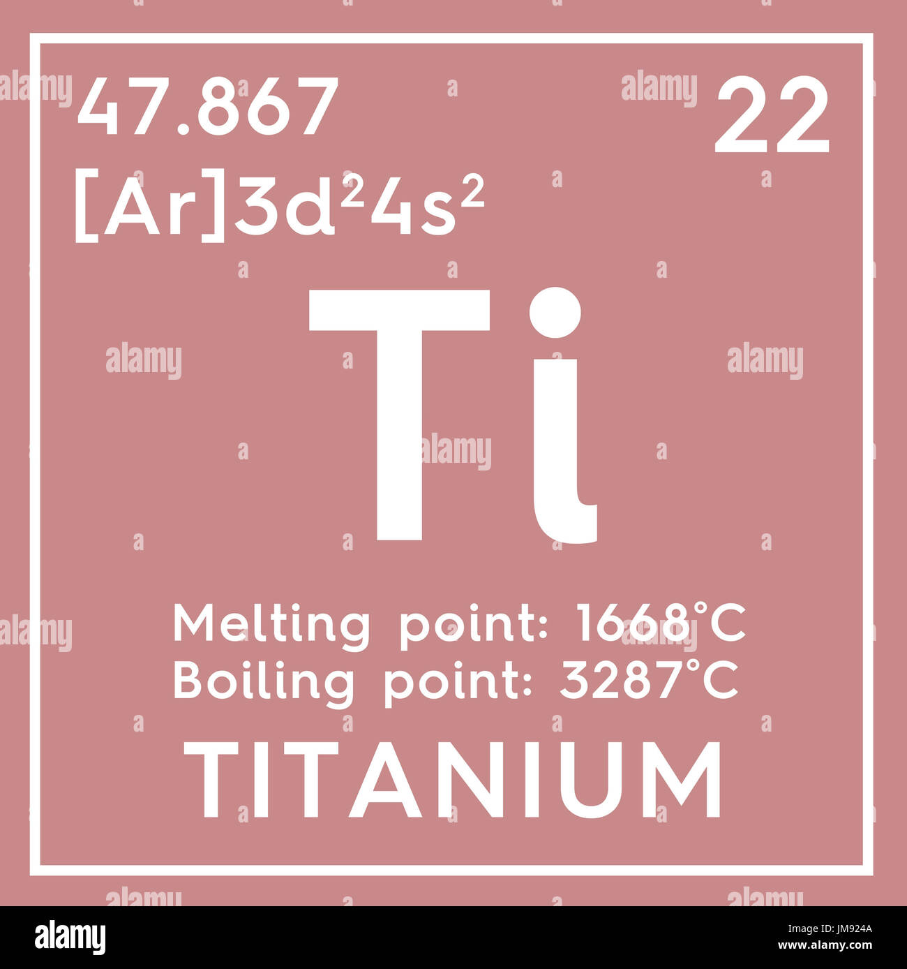 Titanium transition metals chemical element of mendeleevs chemical element of mendeleevs periodic table titanium in square cube creative concept gamestrikefo Images