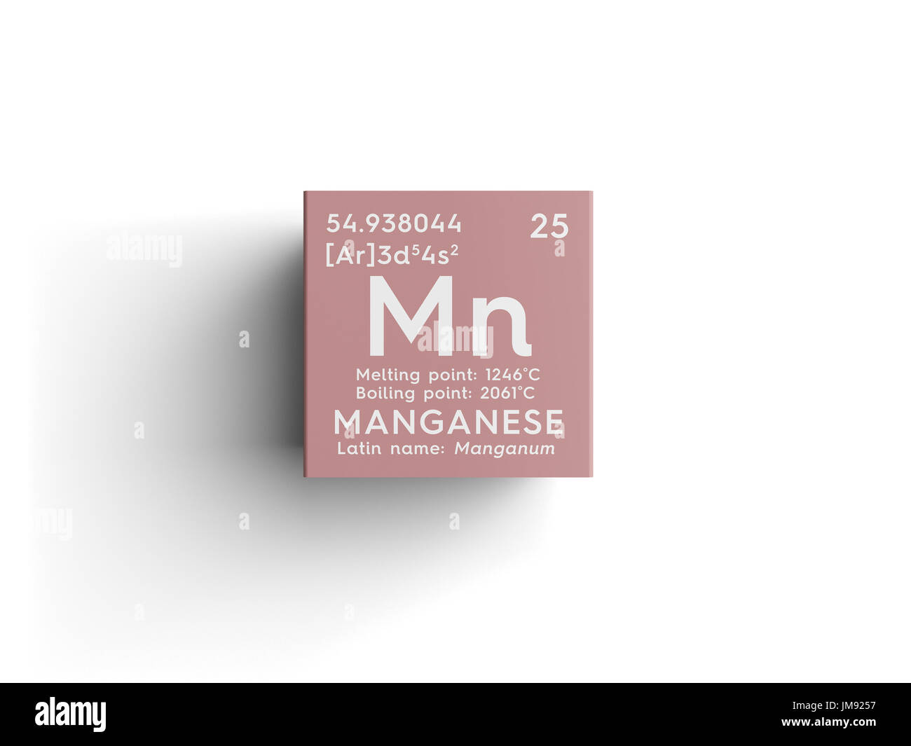 Manganese chemical element stock photos manganese chemical manganese manganum transition metals chemical element of mendeleevs periodic table manganese in gamestrikefo Images