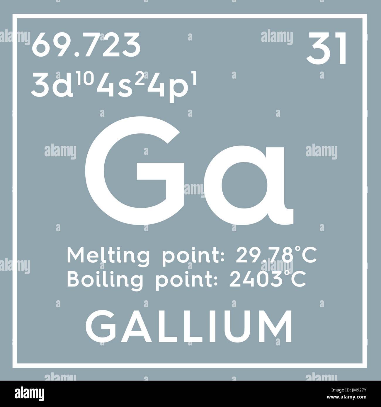 Gallium post transition metals chemical element of mendeleevs chemical element of mendeleevs periodic table gallium in gamestrikefo Image collections