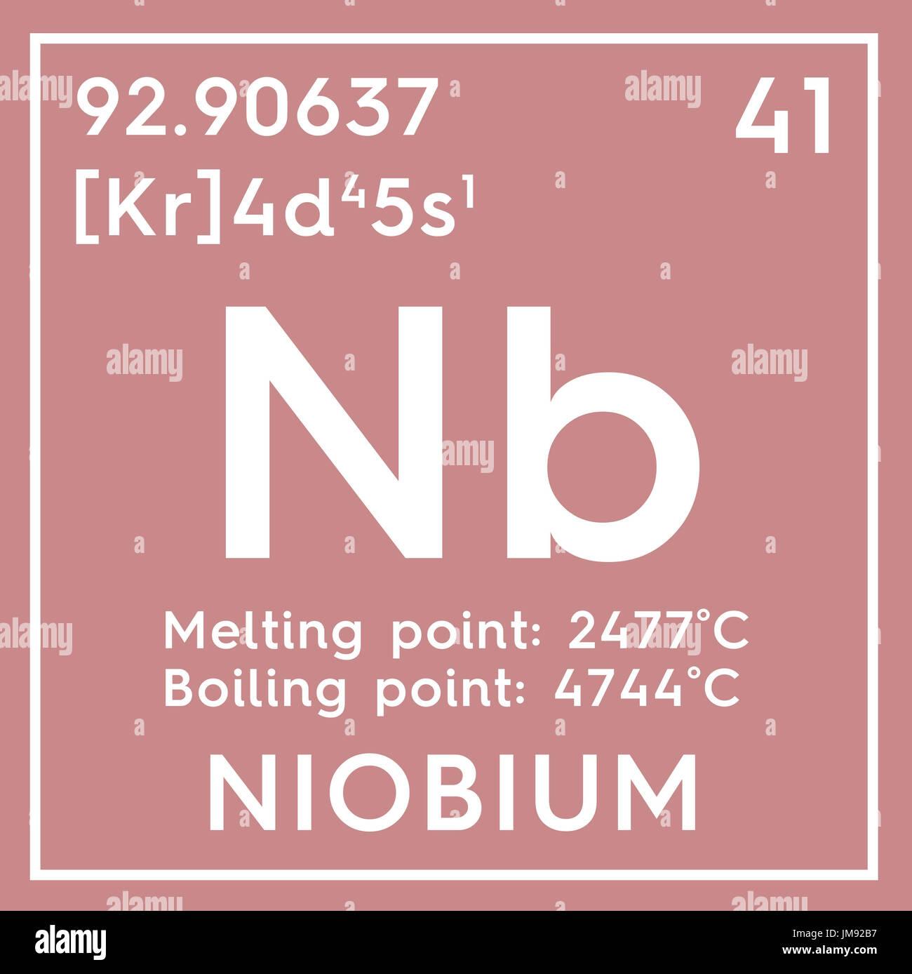 Niobium stock photos niobium stock images alamy niobium transition metals chemical element of mendeleevs periodic table niobium in square cube biocorpaavc
