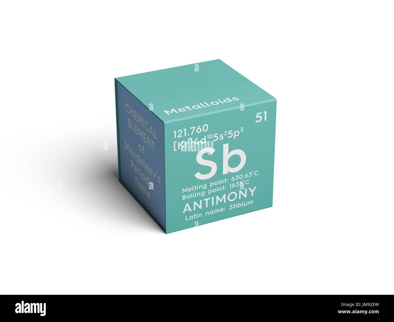 Antimony stibium metalloids chemical element of mendeleevs antimony stibium metalloids chemical element of mendeleevs periodic table antimony in square gamestrikefo Choice Image