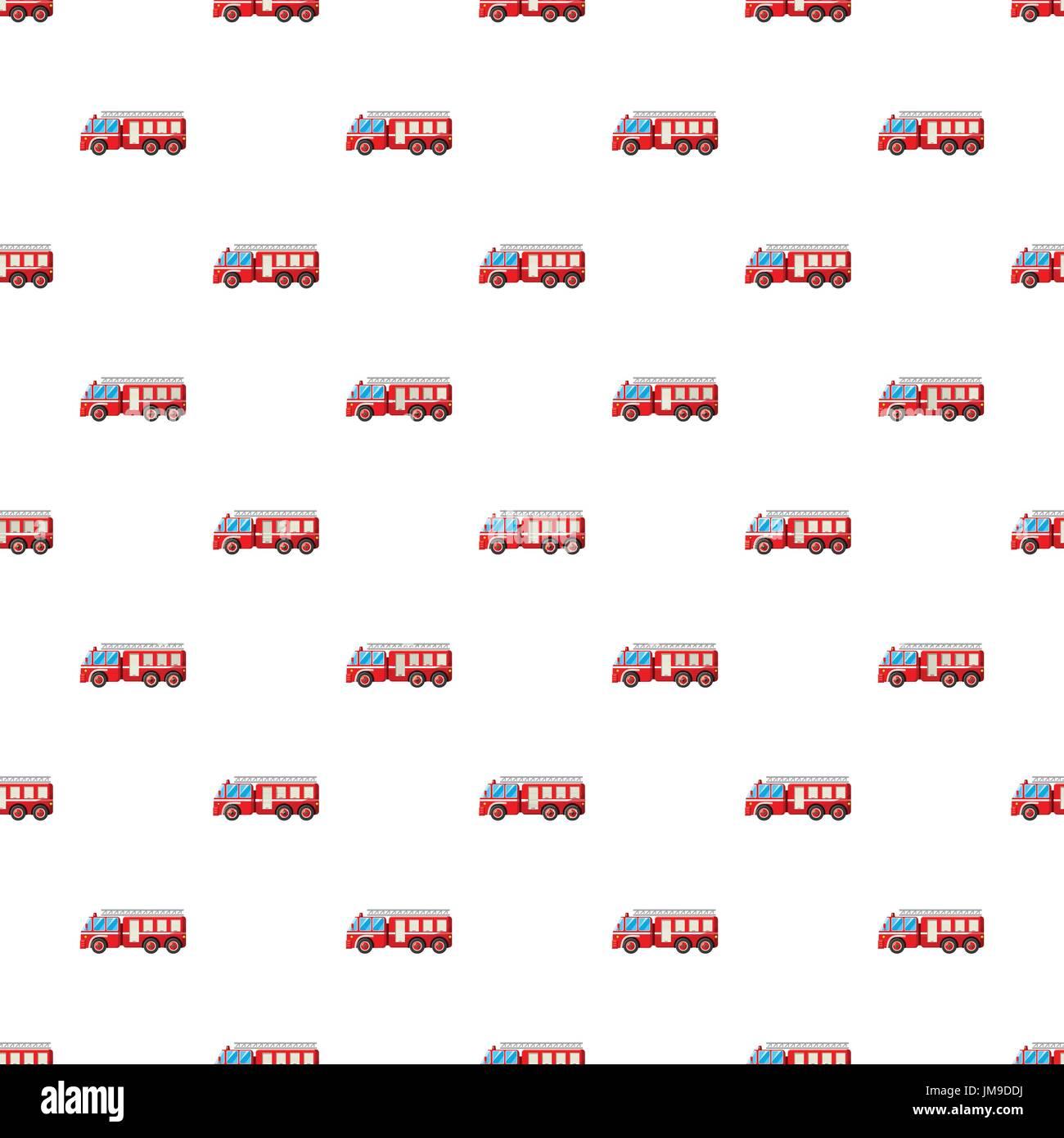 fire truck pattern stock vector art illustration vector image