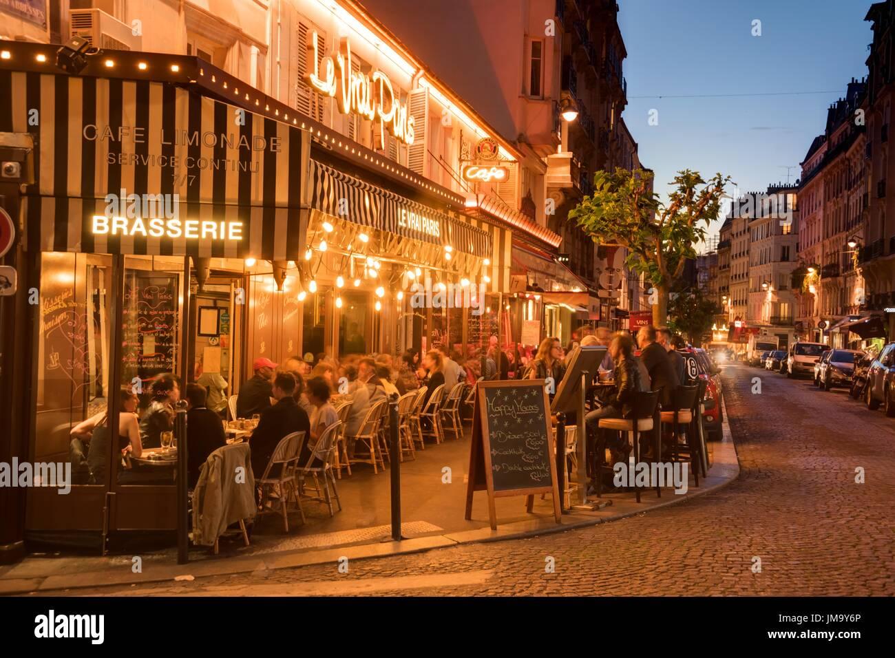 Restaurant Abesses Paris