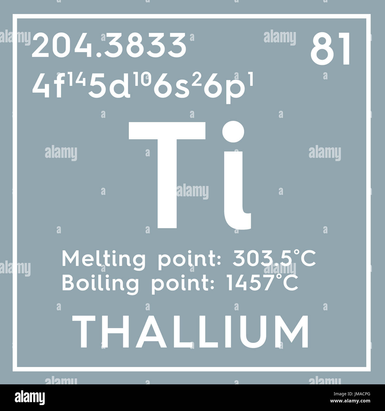 Thallium post transition metals chemical element of mendeleevs stock photo thallium post transition metals chemical element of mendeleevs periodic table thallium in square cube creative concept gamestrikefo Gallery