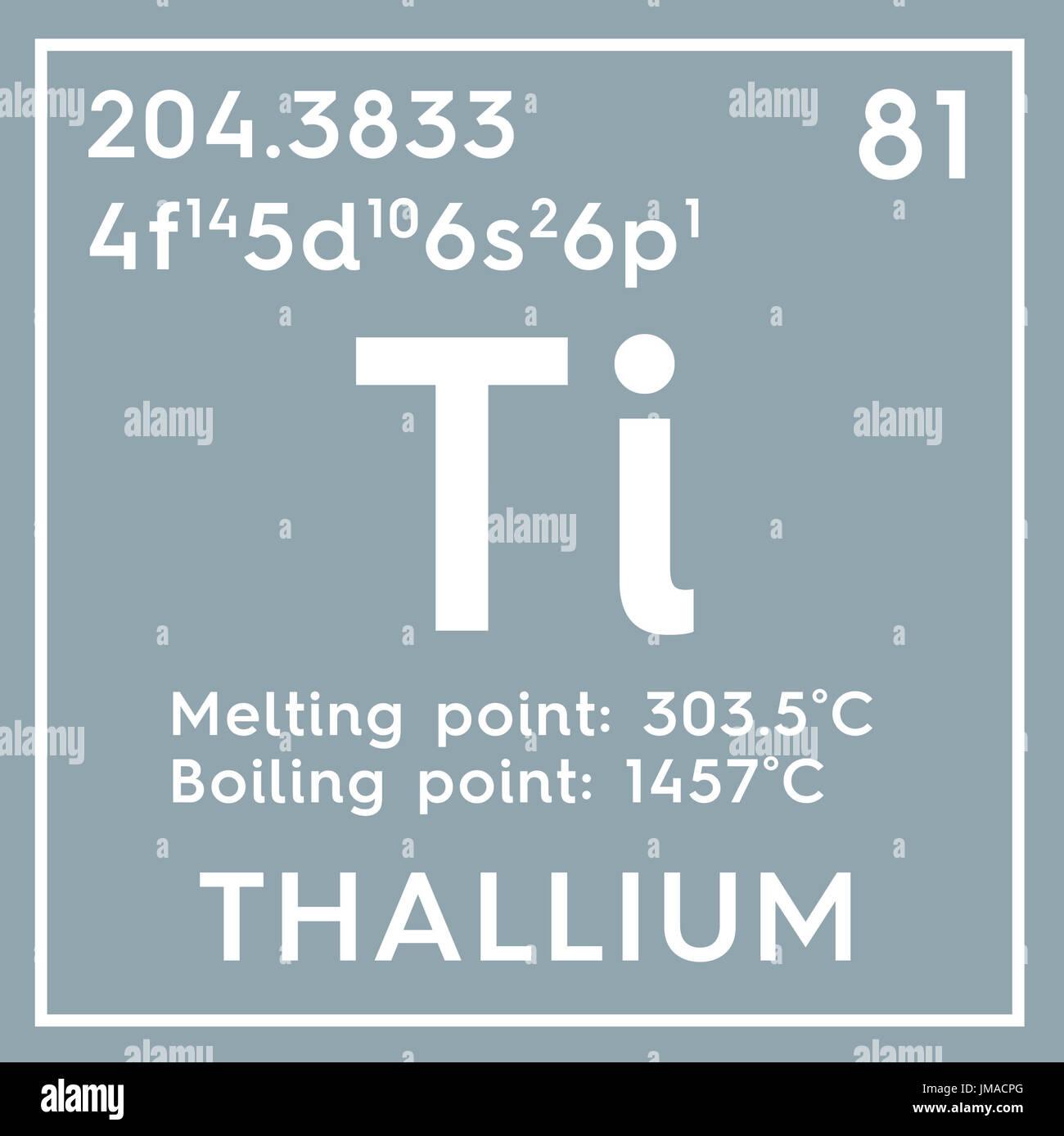 Thallium post transition metals chemical element of mendeleevs post transition metals chemical element of mendeleevs periodic table thallium in square cube creative concept gamestrikefo Images