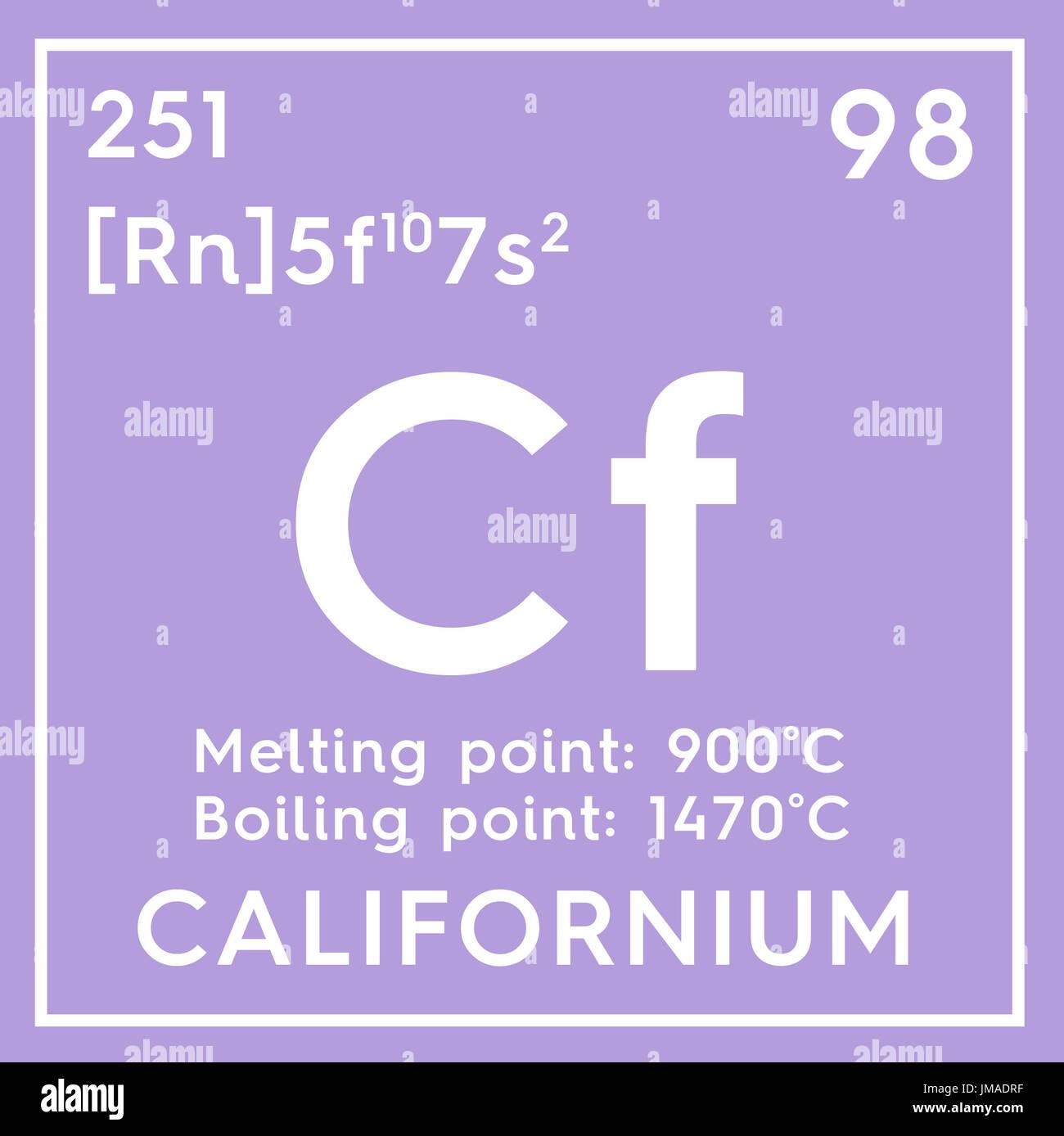Californium actinoids chemical element of mendeleevs periodic chemical element of mendeleevs periodic table californium in square cube creative concept gamestrikefo Image collections