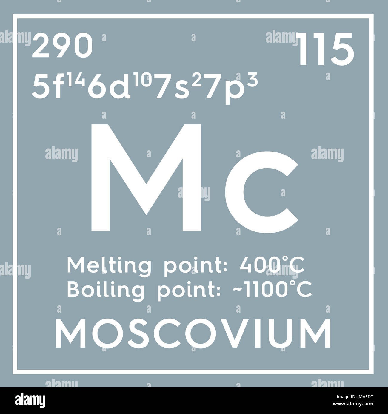 Moscovium post transition metals chemical element of mendeleevs moscovium post transition metals chemical element of mendeleevs periodic table moscovium in gamestrikefo Image collections