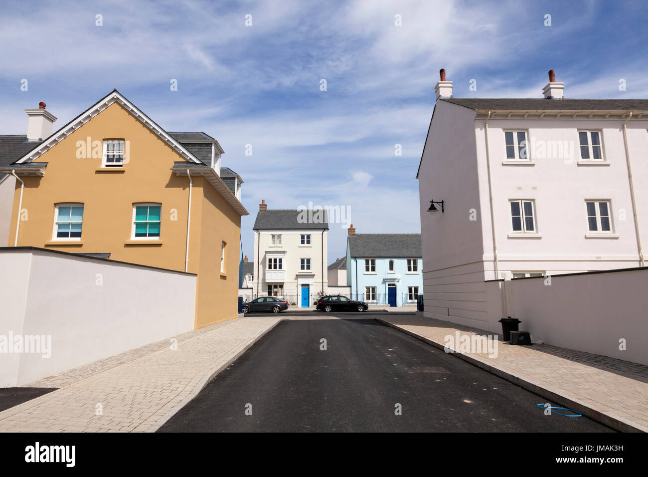 The collectors olivey place mylor bridge nr falmouth cornwall uk - Houses On The Nansledan 540 Acre New Build Housing Project At Newquay Cornwall Built