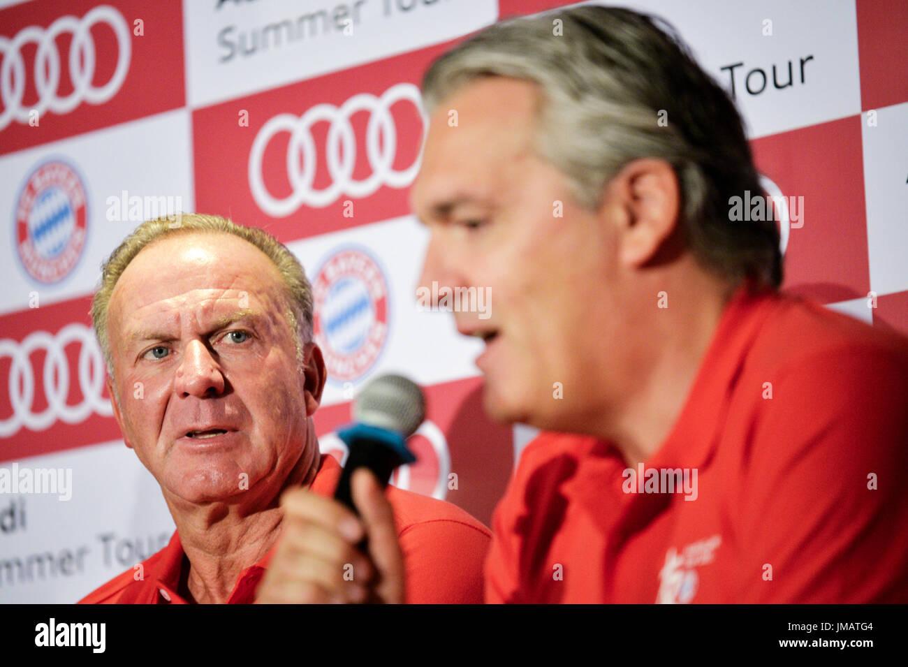 Fc Munich Chairman Karl Heinz Rummenigge Stock s & Fc Munich