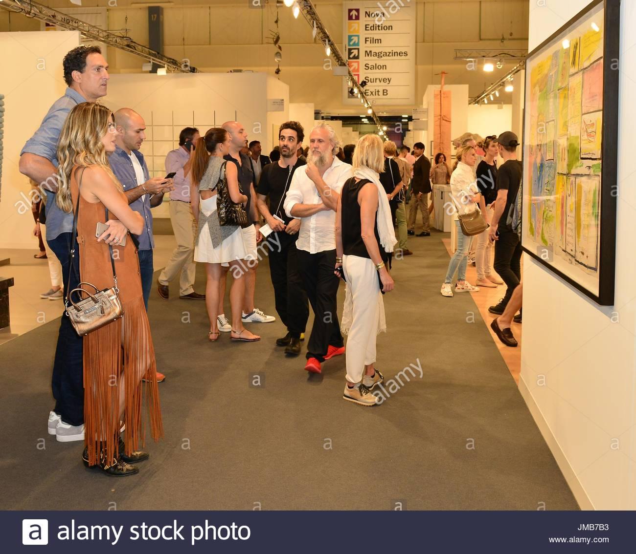 Rony Seikaly Celebrities attend Art Basel Miami Beach