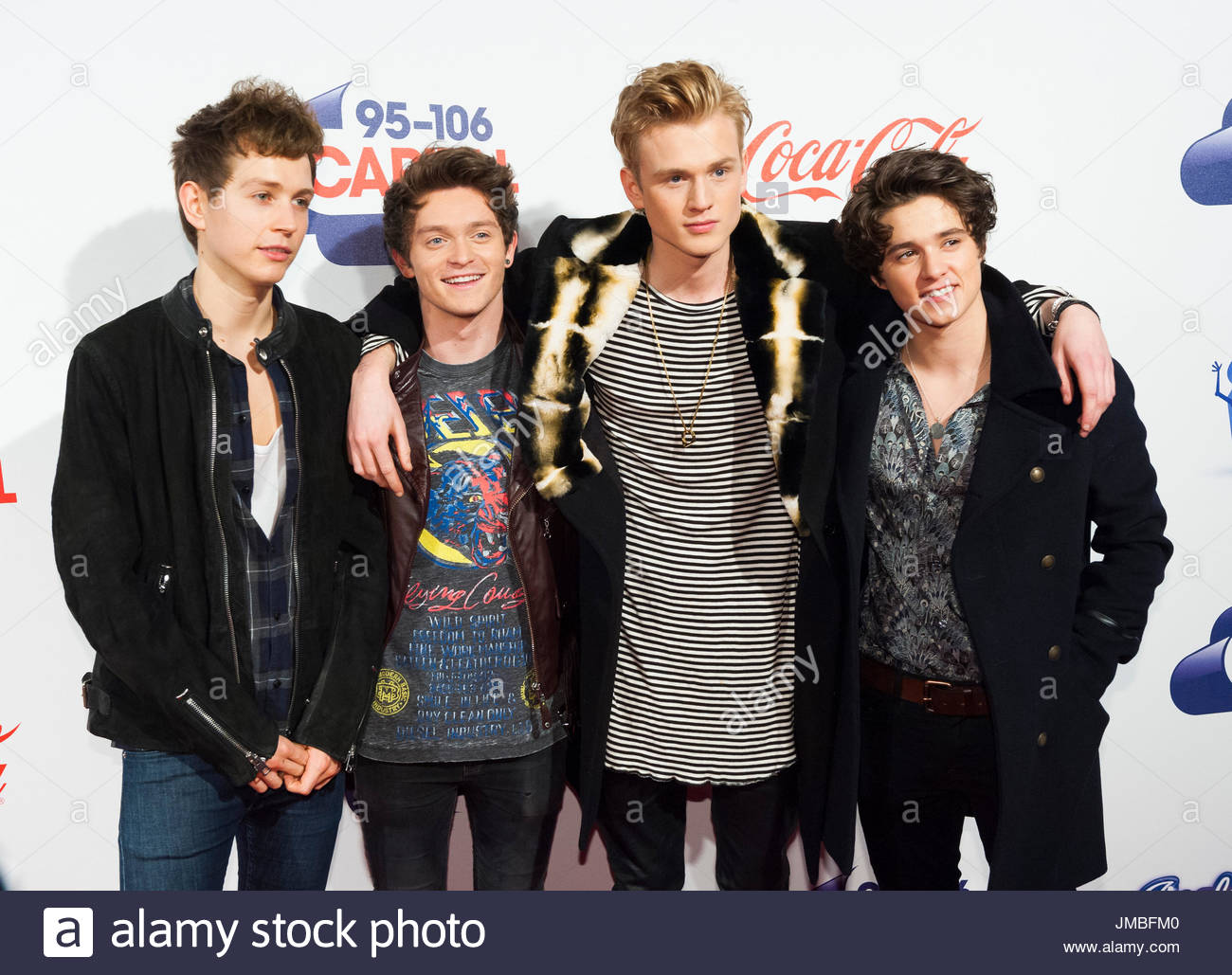 The Vamps And James Mcvey And Bradley Simpson And Tristan Evans And