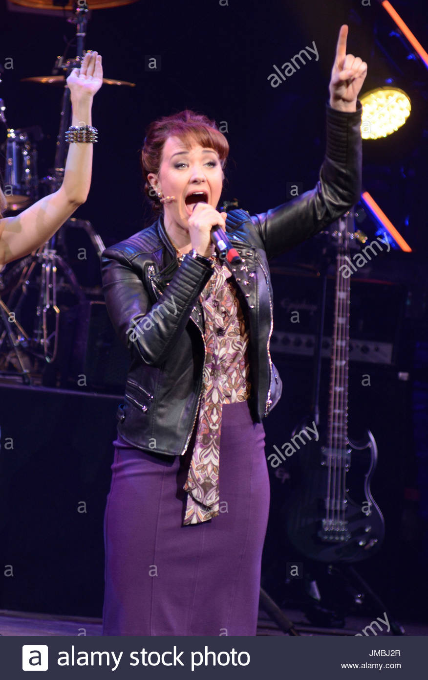 sierra boggess of rock opening night on broadway at the