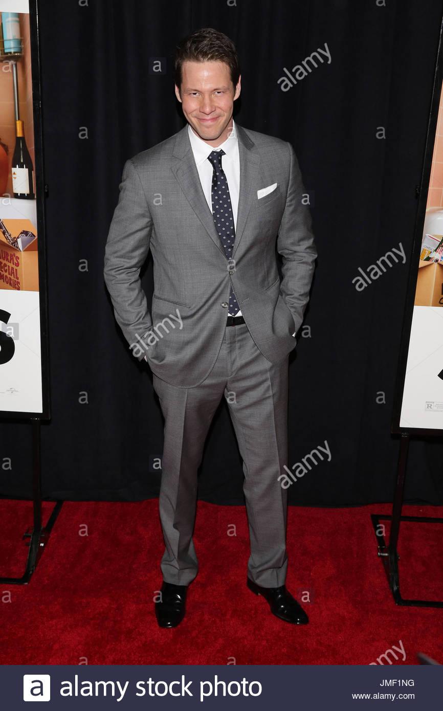 Ike Barinholtz Celebrity Arrivals For New York Premiere Of Stock