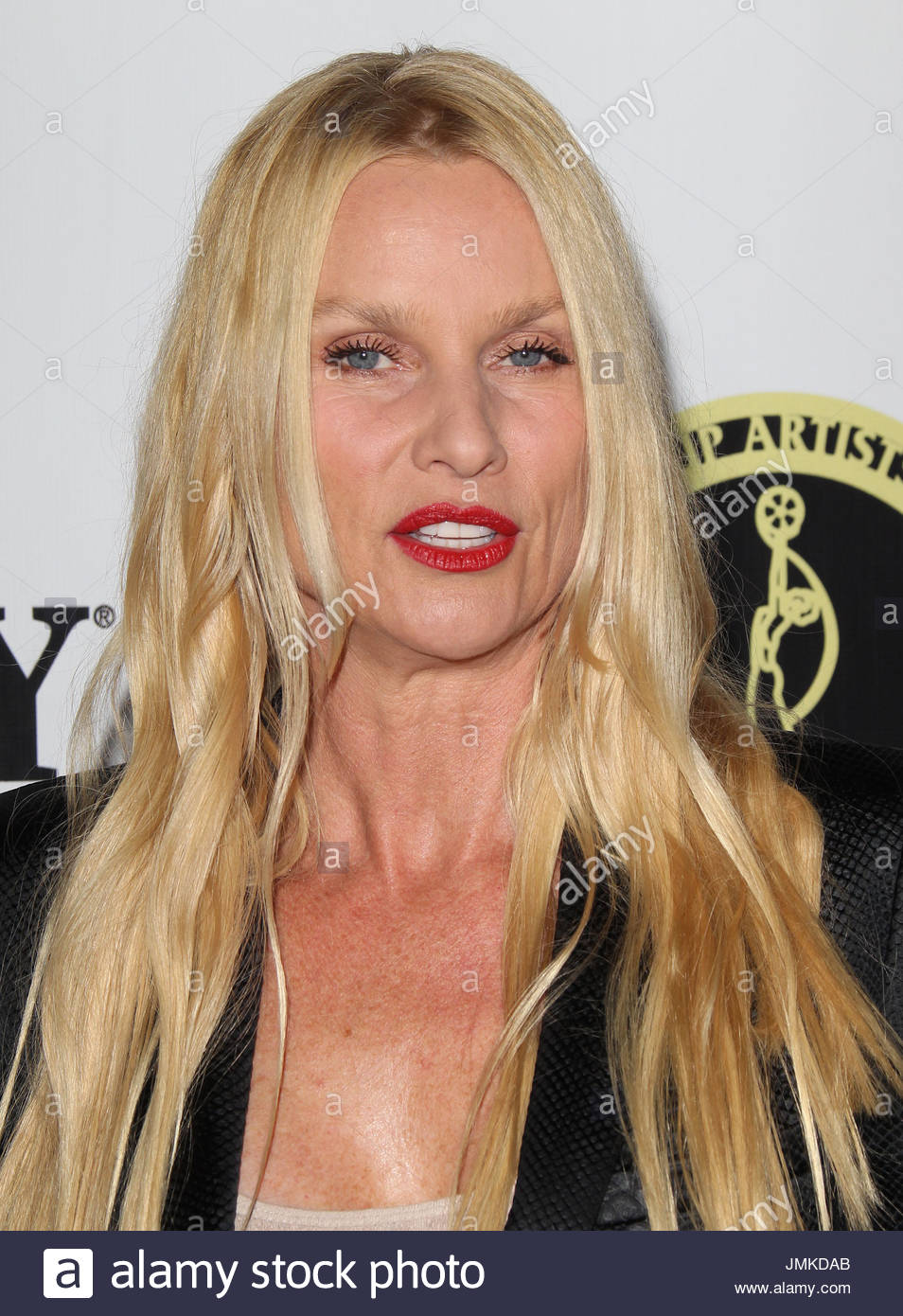 Nicollette Sheridan Arrivals At The Make Up Artists And Hair Stock