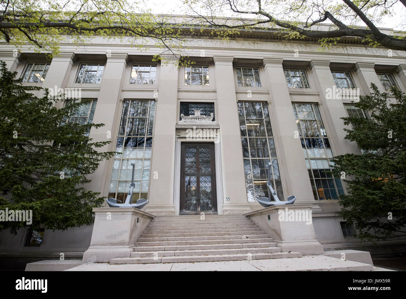 Pratt School Of Naval Architecture And Marine Engineering MIT Massachusetts Institute Technology Boston USA