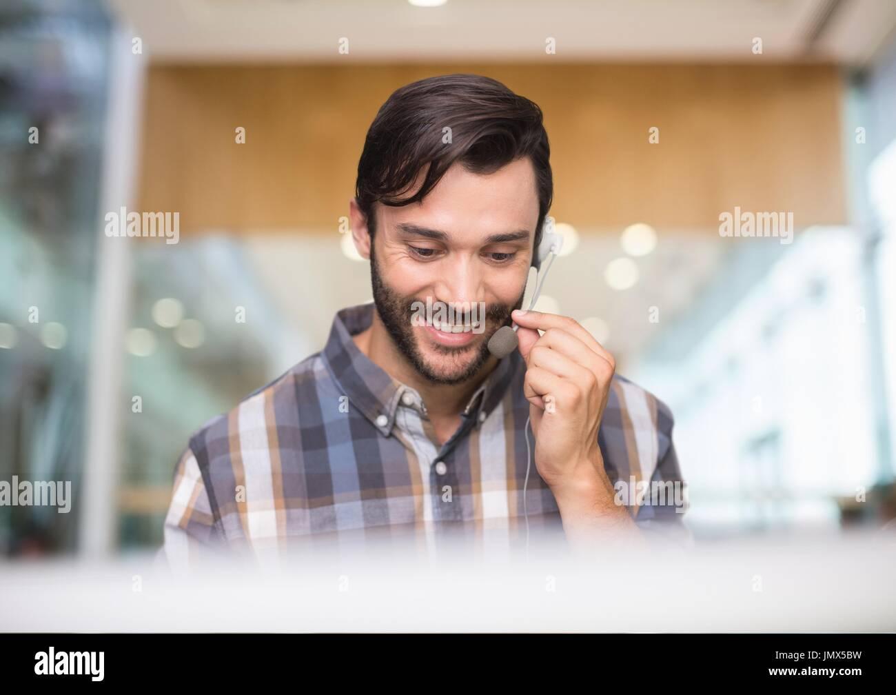 Pulling facial hairs