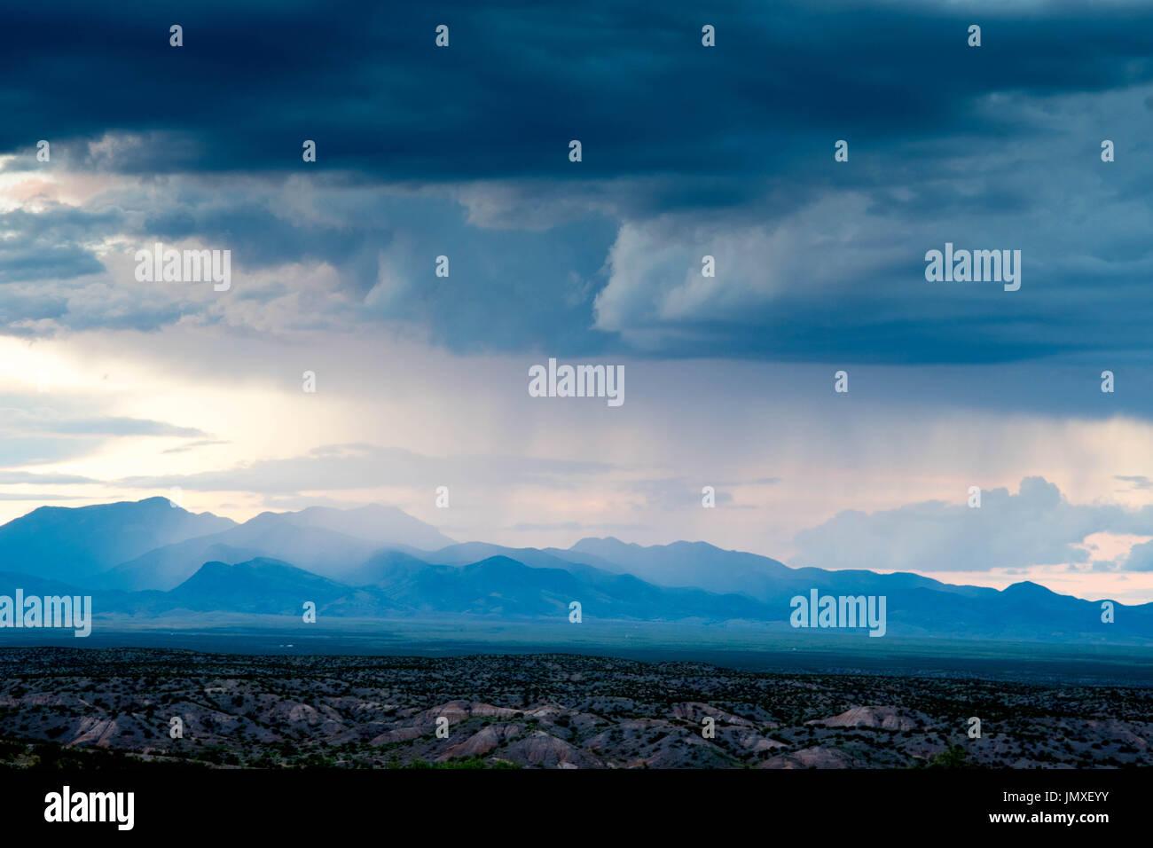 New mexico socorro county magdalena - Monsoon Rainstorm Over The Magdalena Mountains Socorro Co New Mexico Usa