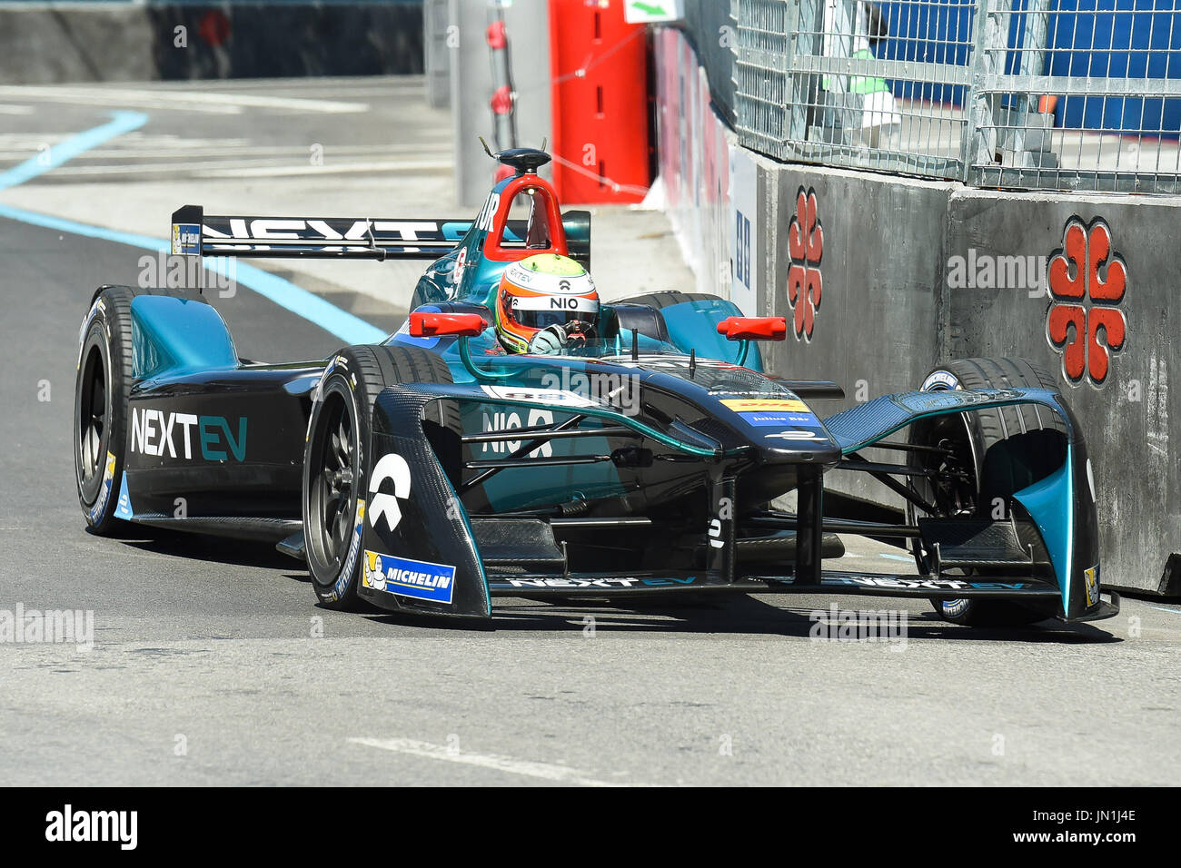 July Nextev Nio Pilot Oliver Turvey During The