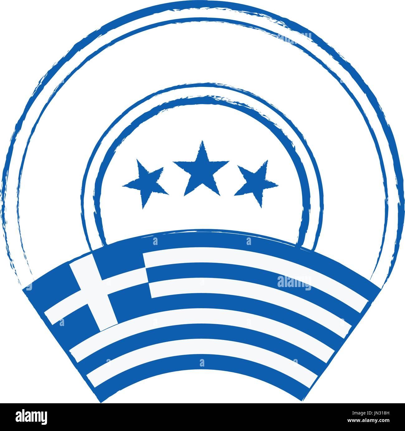 greek flag template - grunge illustration greek flag stock photos grunge