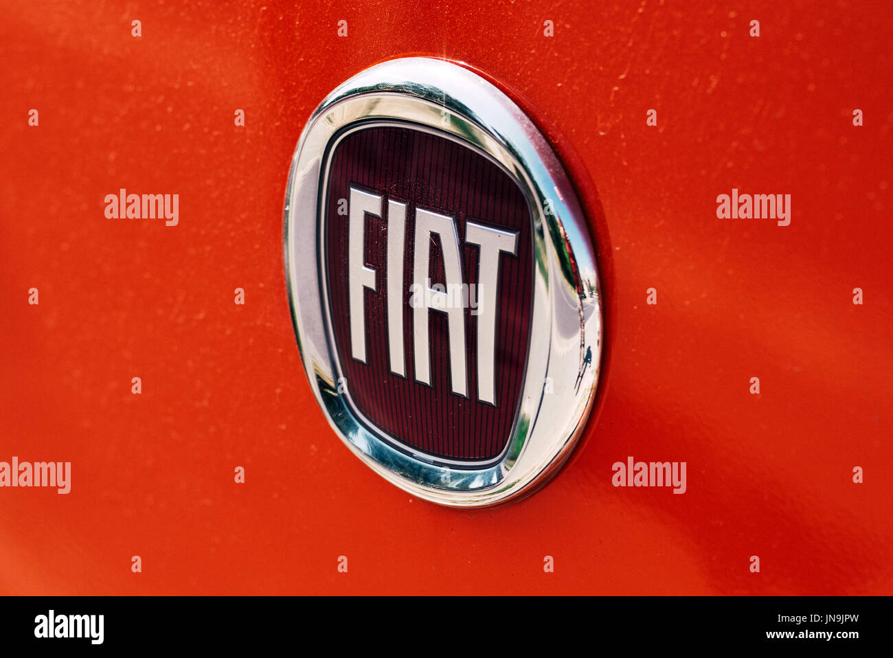 Fiat chrysler automobiles stock photos fiat chrysler automobiles novi sad serbia july 20 2017 fiat automobiles logo the largest biocorpaavc