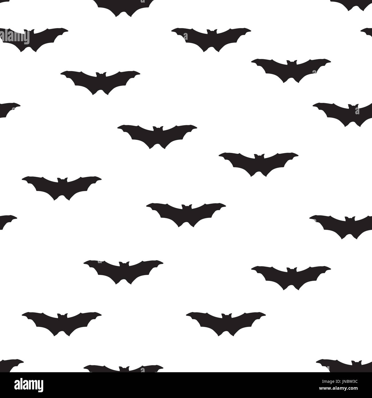 halloween bat silhouette seamless pattern holiday halloween background