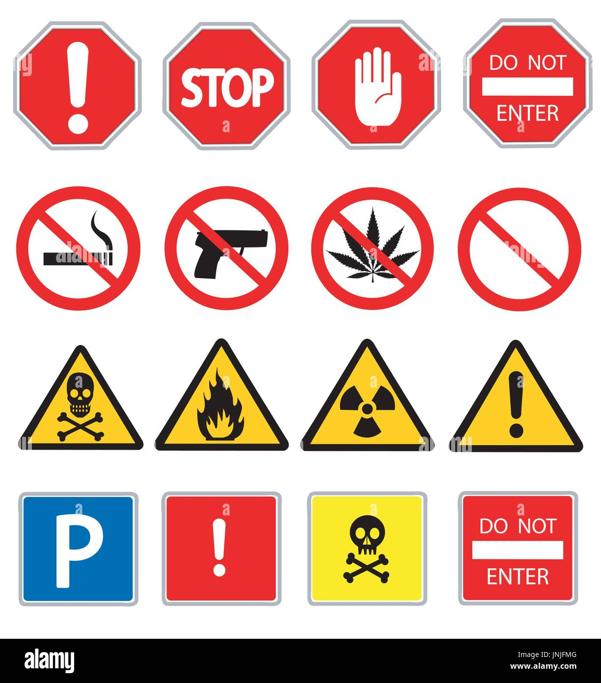 Hazard signs isolated set stock photos hazard signs isolated set road signs and triangular warning hazard signs stock image biocorpaavc