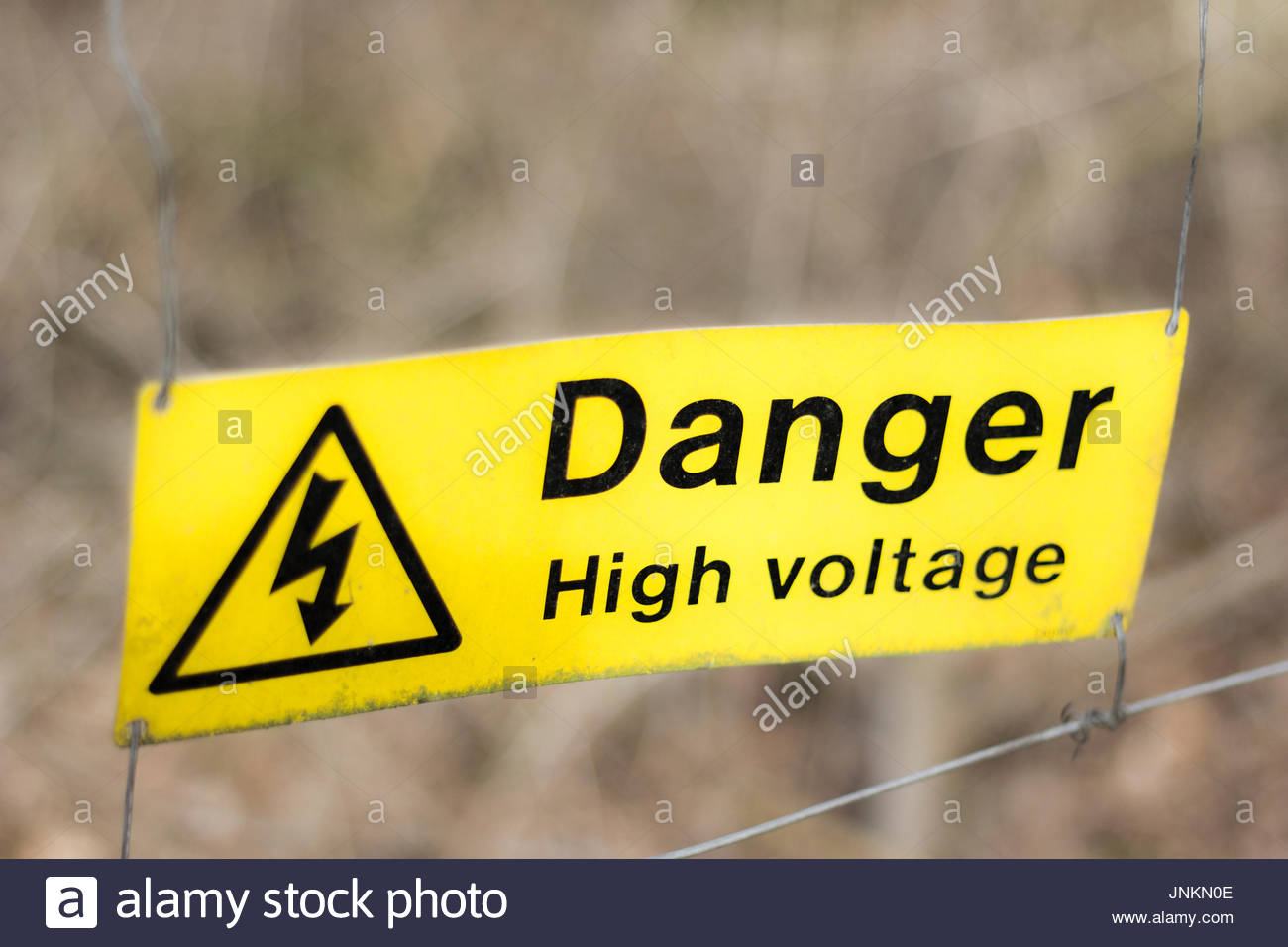 High voltage sign stock photos high voltage sign stock images alamy danger high voltage sign stock image buycottarizona Images