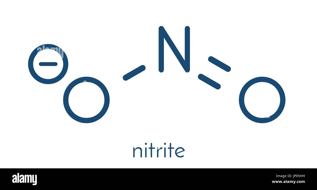 Nitrite anion chemical structure nitrite salts are used in the nitrite anion chemical structure nitrite salts are used in the curing of meat skeletal formula buycottarizona