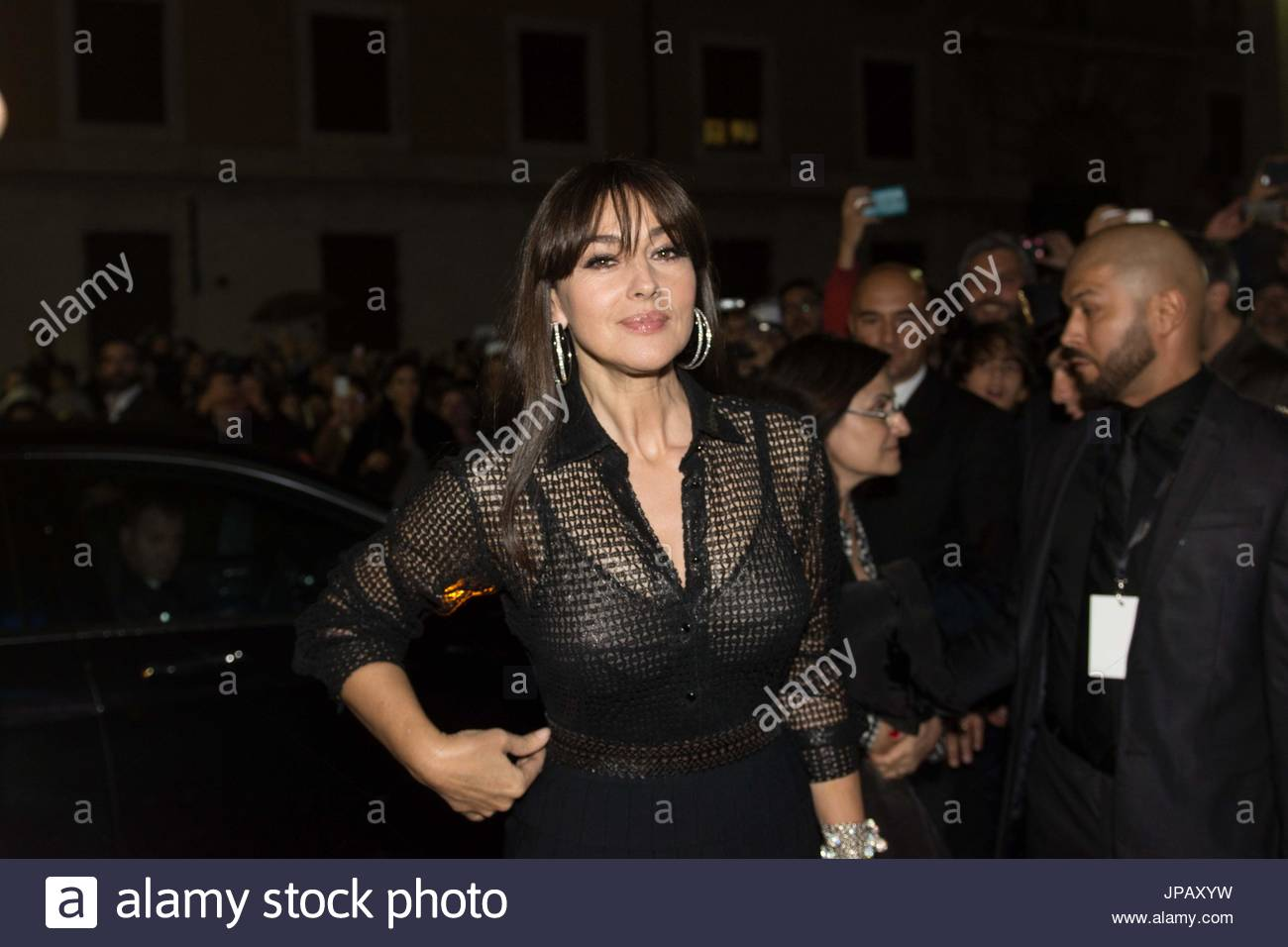 Monica Bellucci. Preview Of The Film Spectre With Cristof