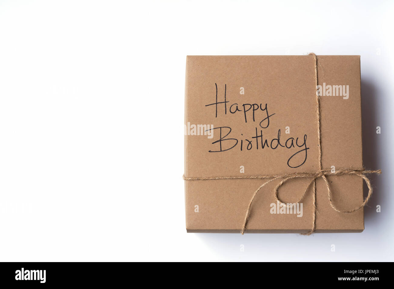 Birthday gift box with birthday text on the box using as birthday gift box with birthday text on the box using as celebration event birthday present negle Image collections