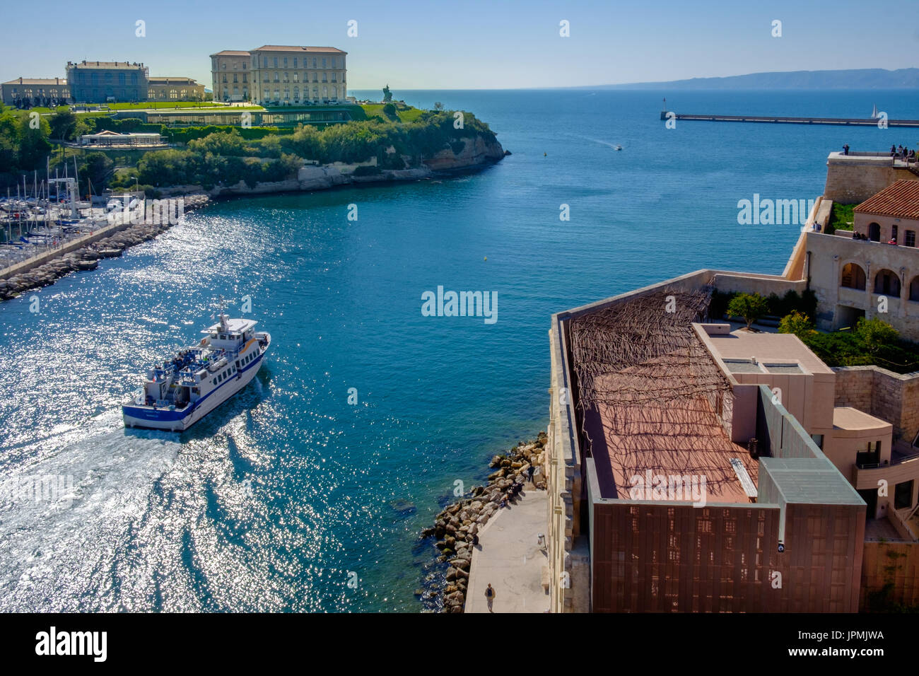 Fort st jean stock photos fort st jean stock images alamy - Port maritime marseille ...