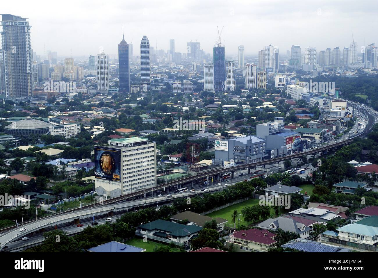 Metro manila philippines july 31 2017 aerial view of metro manila philippines july 31 2017 aerial view of residential and commercial areas and establishments in metro manila sciox Image collections