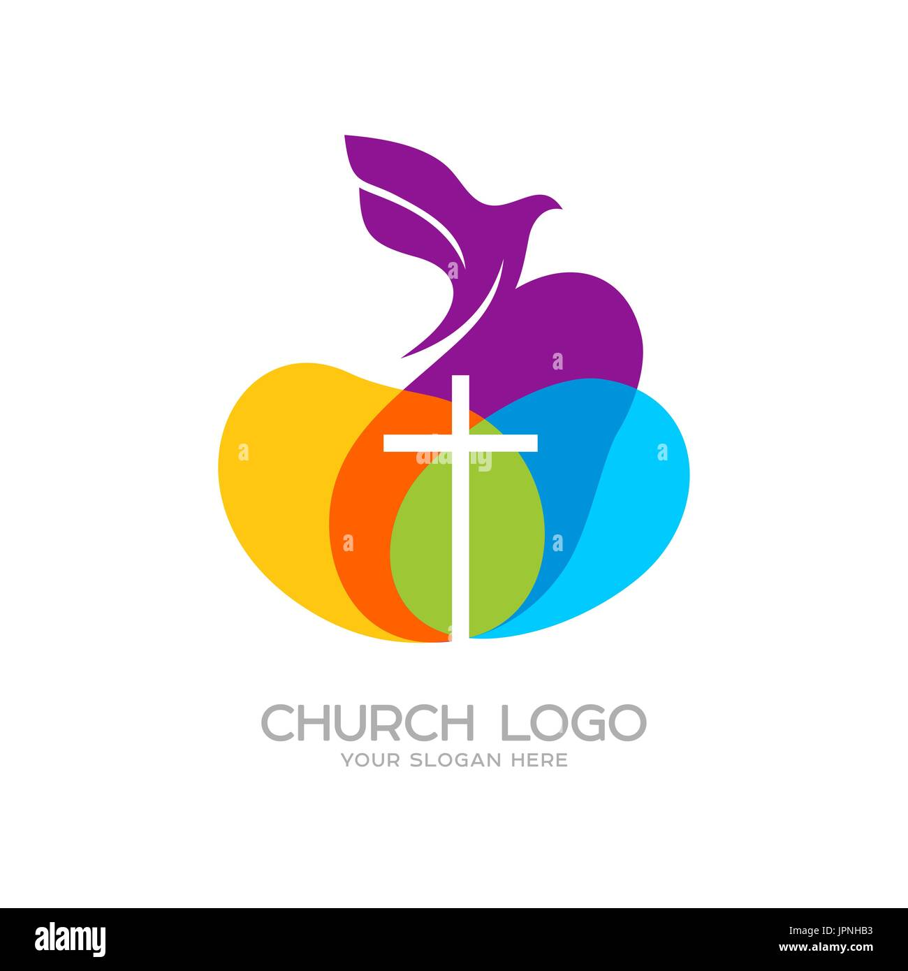 Church logo christian symbols the dove and the cross of jesus church logo christian symbols the dove and the cross of jesus thecheapjerseys Gallery