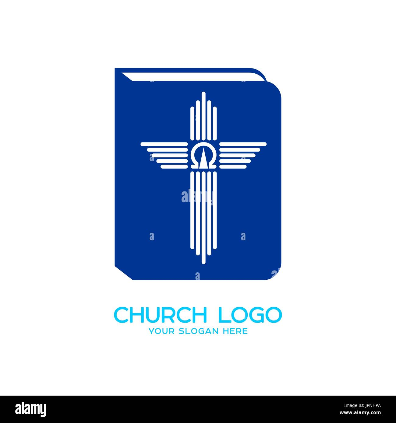 Church logo christian symbols the bible the cross and the church logo christian symbols the bible the cross and the symbols of alpha and omega buycottarizona