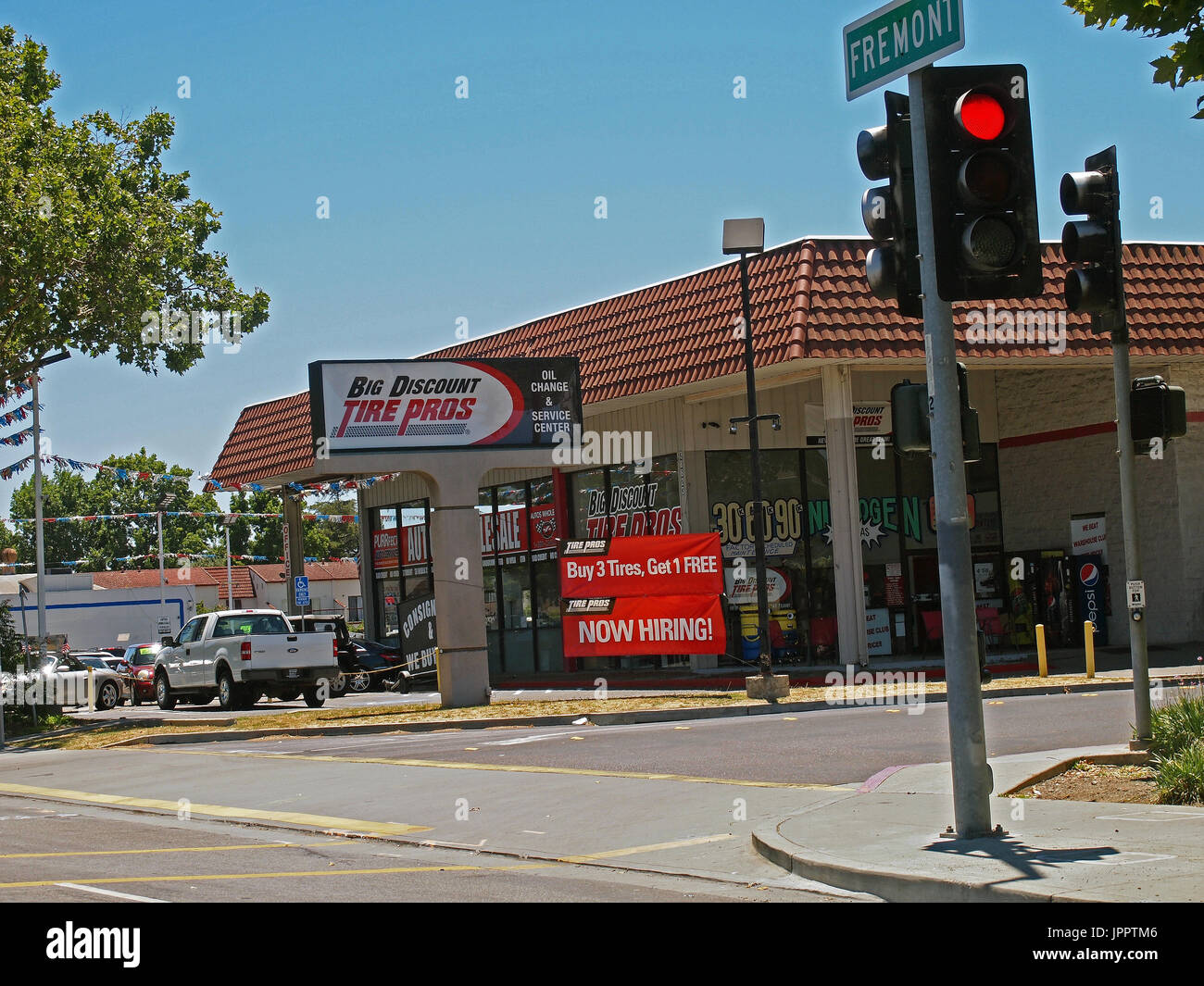 Discount chain stock photos discount chain stock images alamy big discount tire pros store fremont california stock image buycottarizona