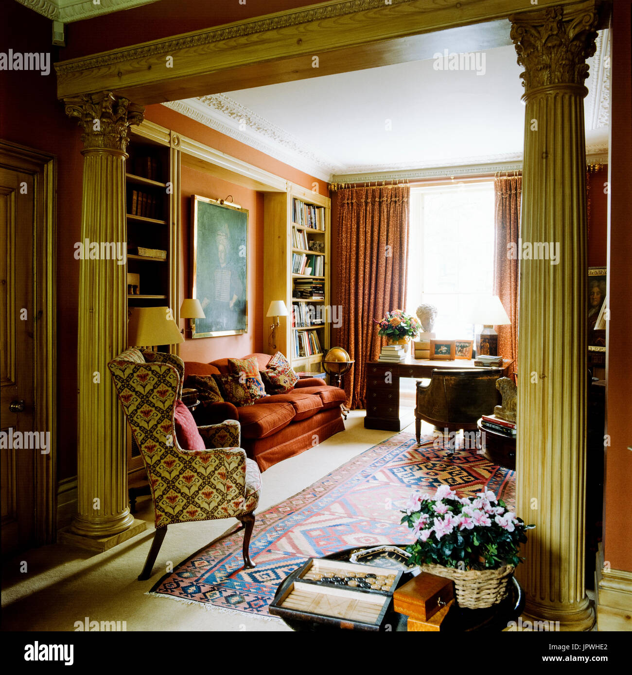 Victorian Living Room Stock Photos Victorian Living Room Stock Images Alamy
