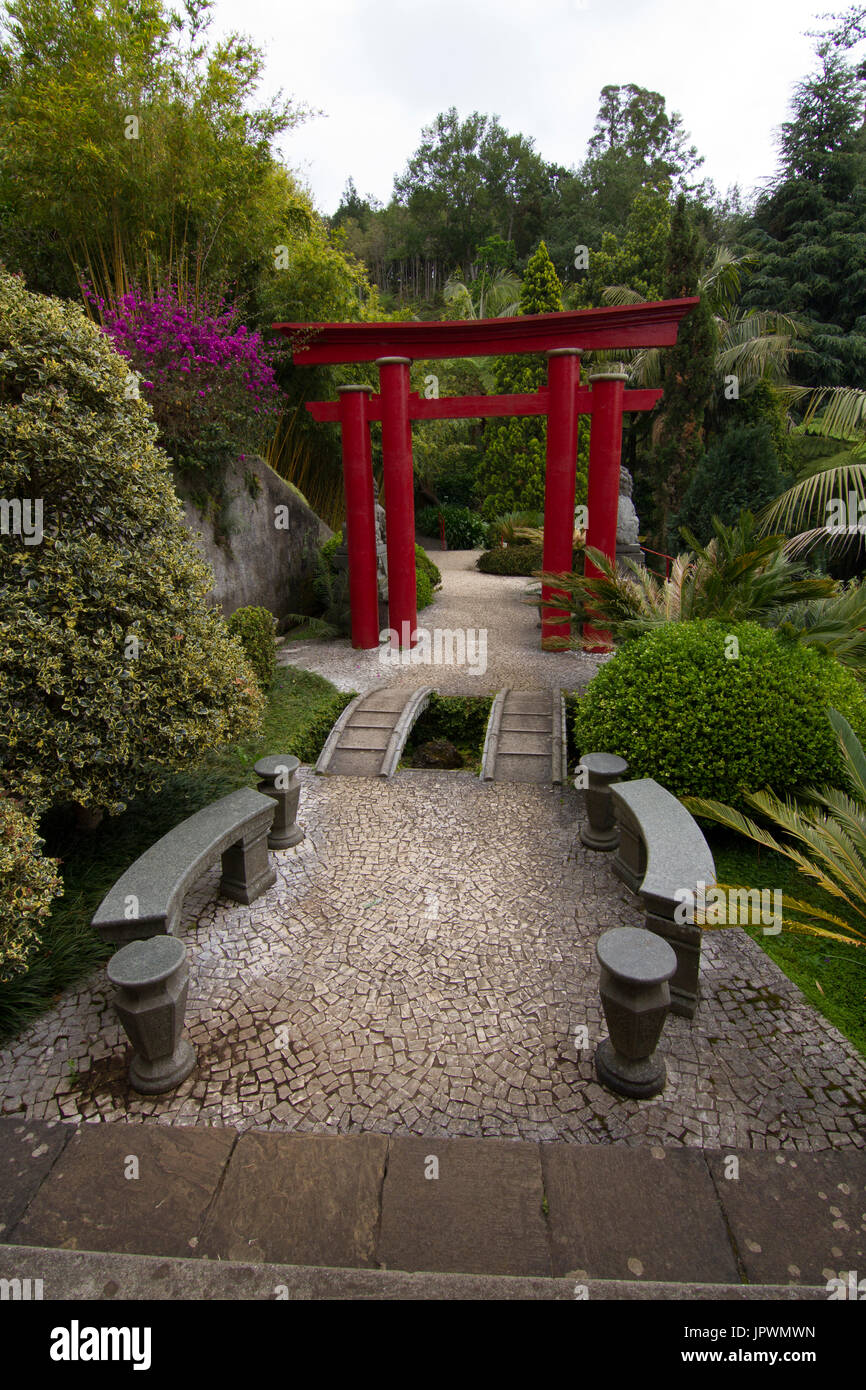 Monte Palace Tropical Garden Madeira Stock Photo Royalty Free Image 151770577 Alamy