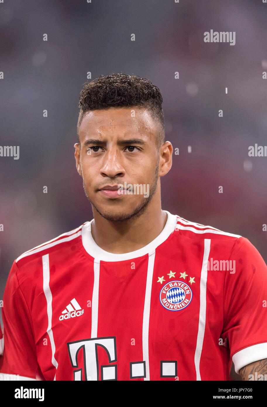 Munich Germany 1st Aug 2017 Corentin Tolisso Bayern Stock