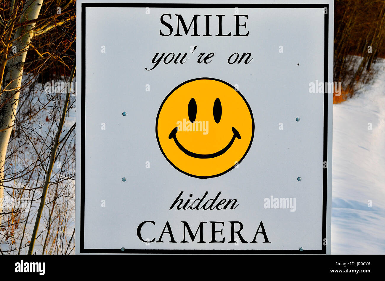 Smile you r on candid camera