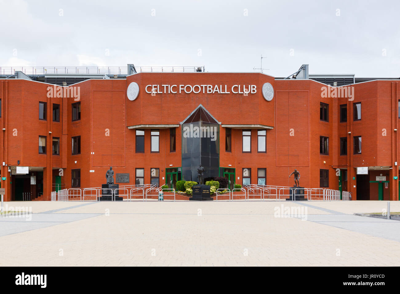 The Main Stand At Celtic Park Home Of Glasgow Football Club