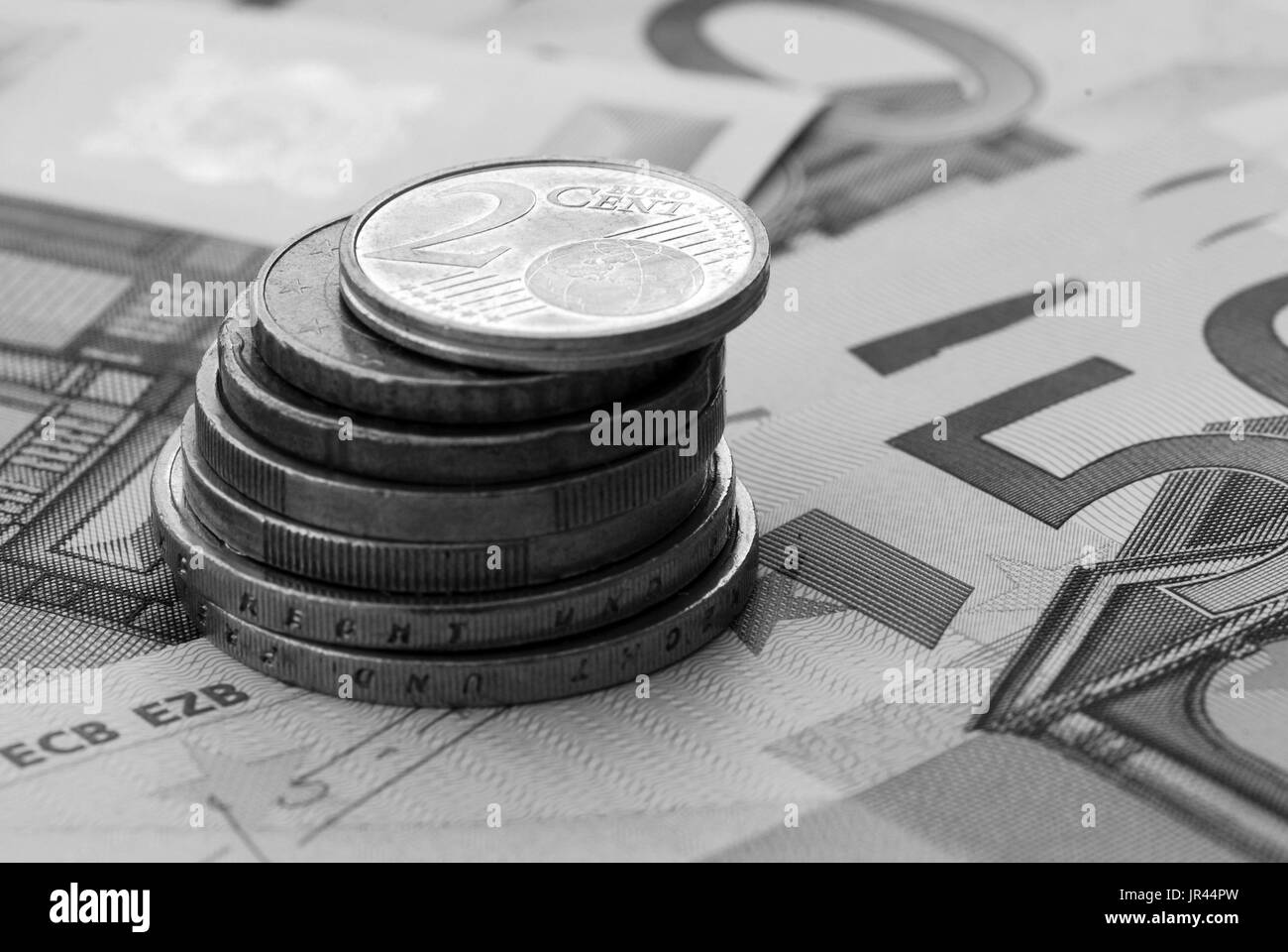 Coins Black And White Stock Photos Amp Images Alamy