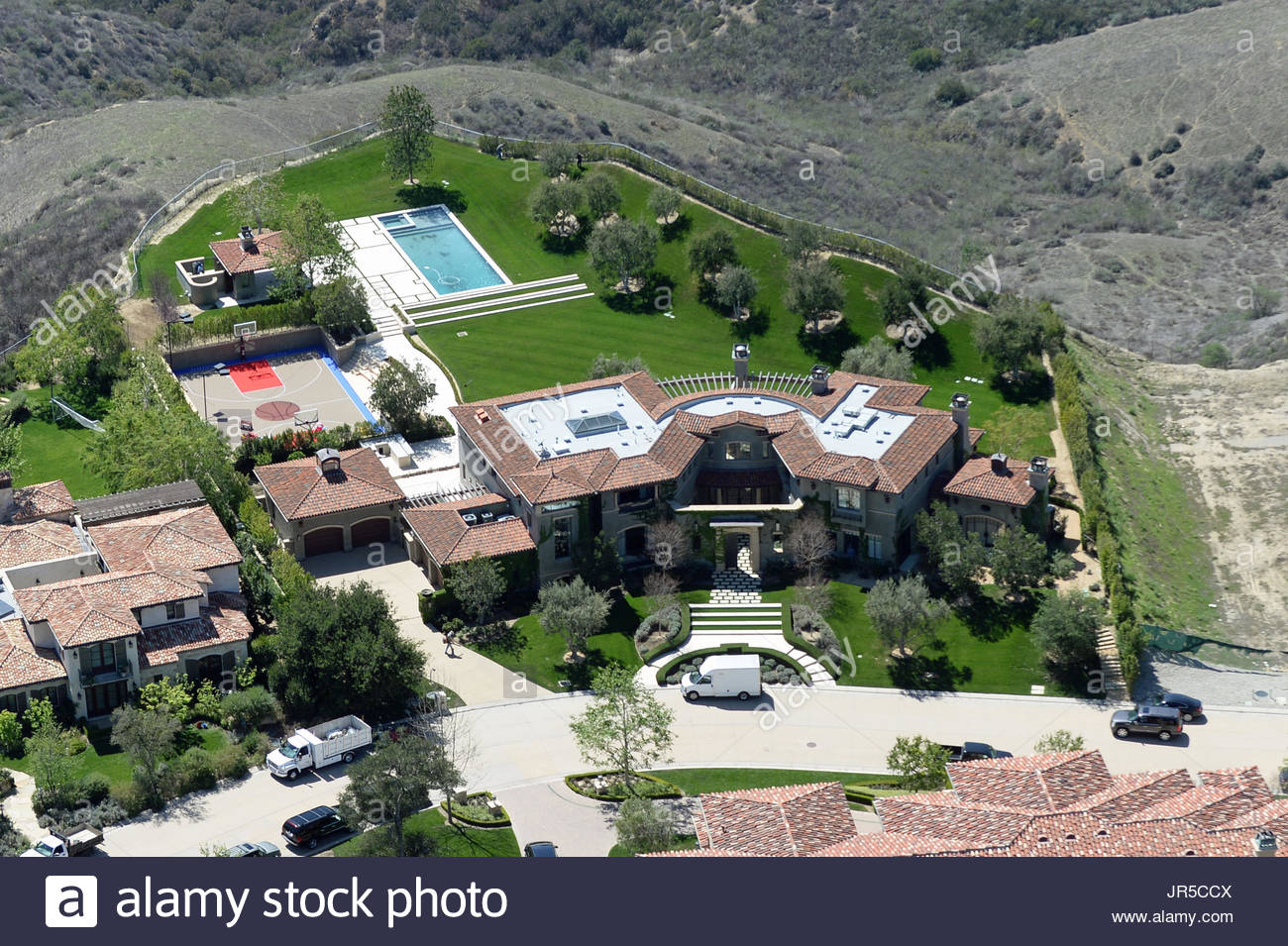 Aerial view kourtney kardashian and scott disick 39 s new 8 for See images of my house