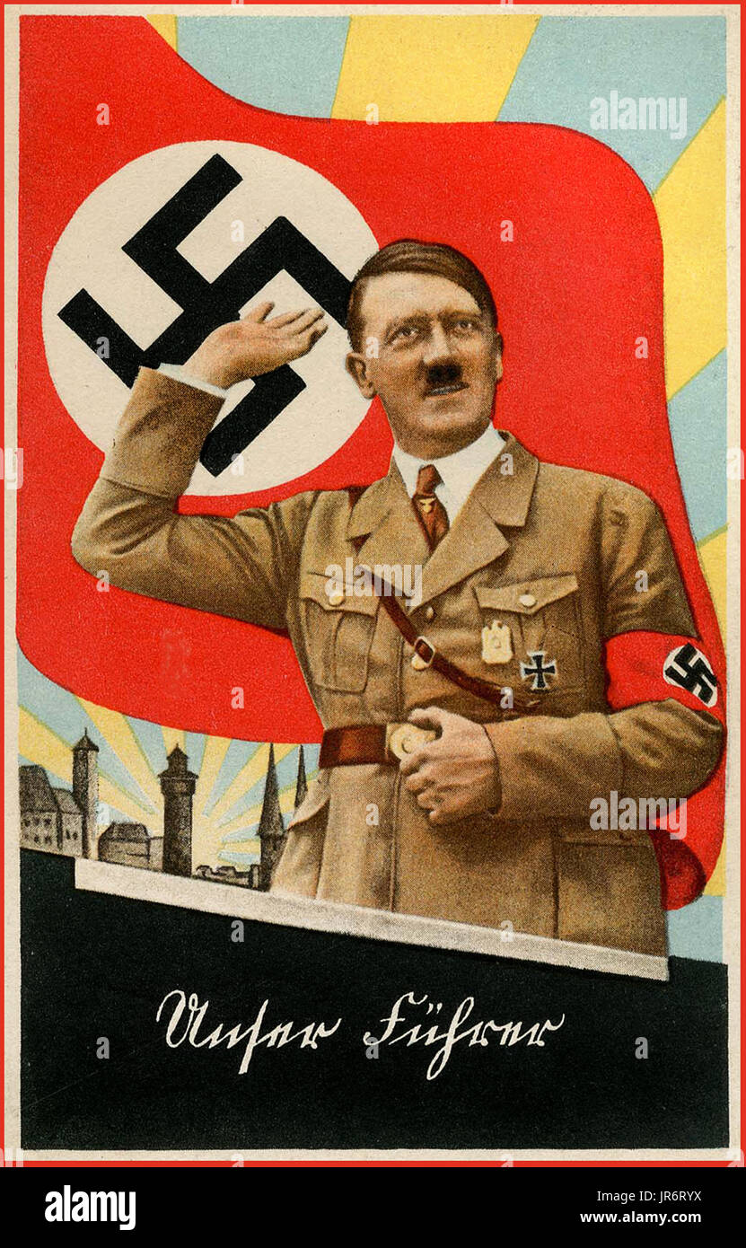 hitler poster propaganda stock photos hitler poster propaganda stock images alamy. Black Bedroom Furniture Sets. Home Design Ideas
