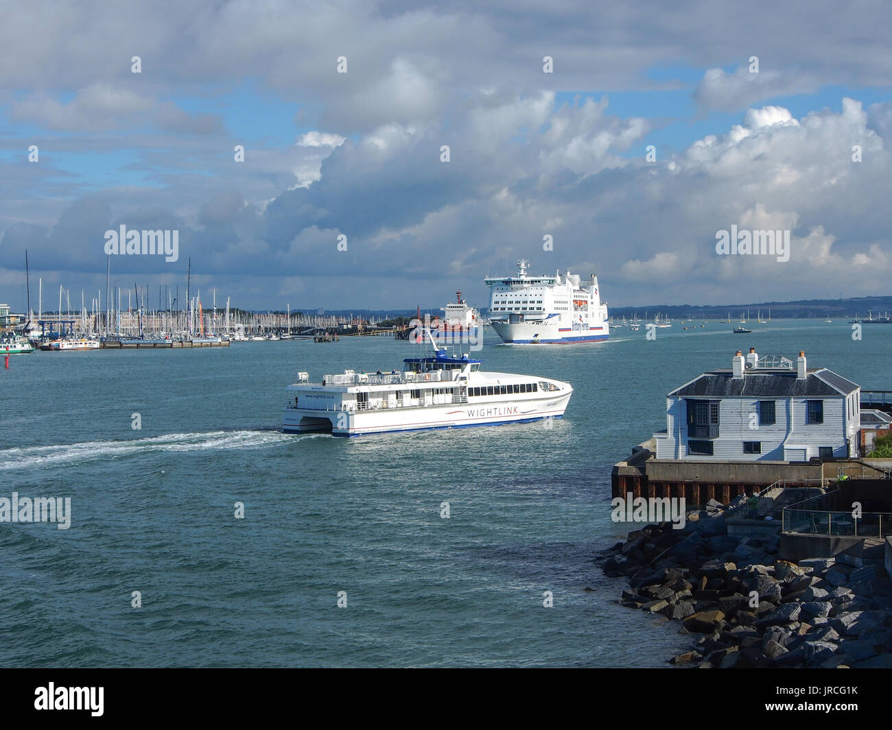 Brittany Ferries Portsmouth Stock Photos Brittany Ferries