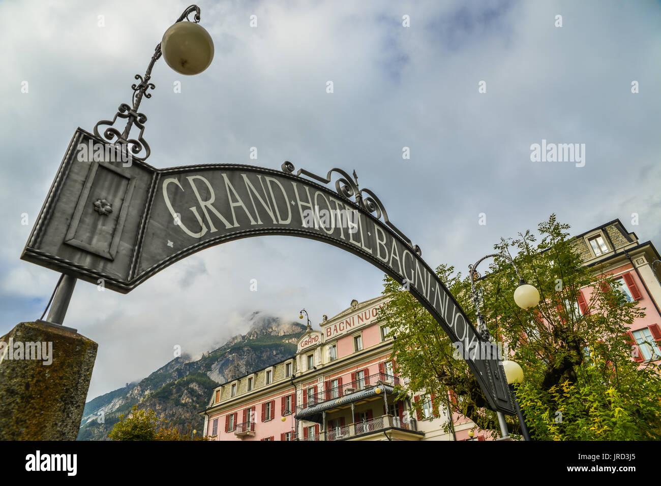 Grand Hotel Bagni Nuovi in Bormio, Italy Stock Photo: 152108269 - Alamy